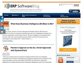 erpsoftwareblog.com screenshot
