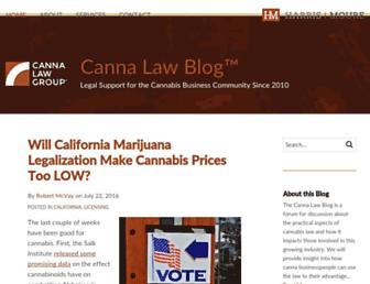 Thumbshot of Cannalawblog.com