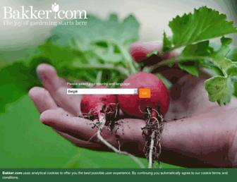 bakker.com screenshot