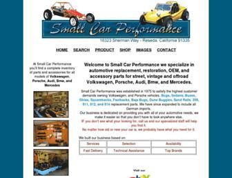 smallcarperformance.us screenshot