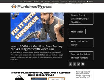punishedprops.com screenshot