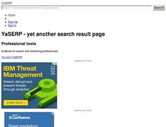 Thumbshot of Yaserp.net