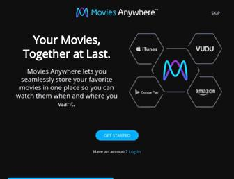 moviesanywhere.com screenshot