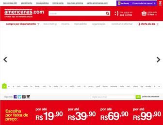 Thumbshot of Americanas.com.br