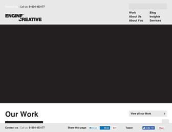 enginecreative.co.uk screenshot