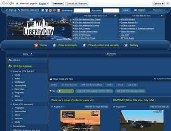 libertycity.net screenshot
