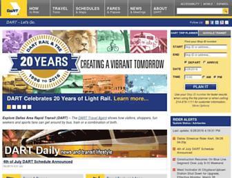 Main page screenshot of dart.org