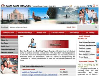 Thumbshot of Samsantravels.com