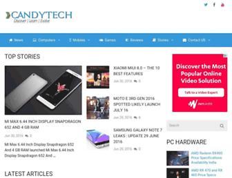candytech.in screenshot