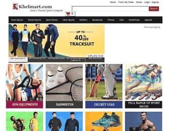 khelmart.com screenshot