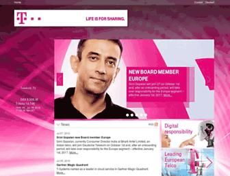 Thumbshot of Telekom.com
