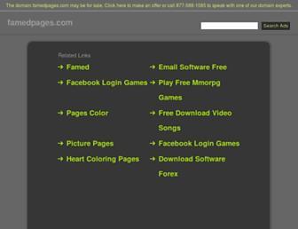 no.famedpages.com screenshot