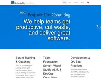 benday.com screenshot