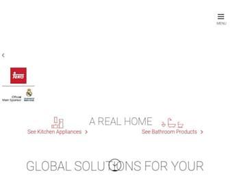 tekaindustrial.com screenshot