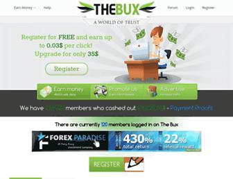 Thumbshot of The-bux.net
