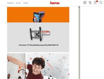 de.hama.com screenshot
