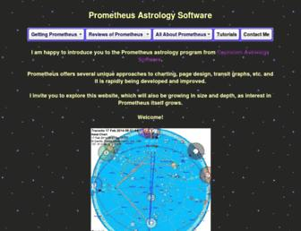 prometheusastrology.com screenshot