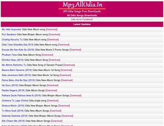 mp3.allodia.in screenshot