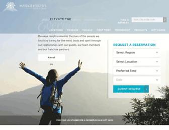 Thumbshot of Massageheights.com