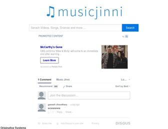 musicjinni.com screenshot