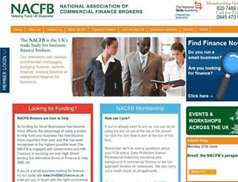 nacfb.org screenshot