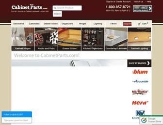 Thumbshot of Cabinetparts.com