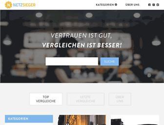 netzsieger.de screenshot