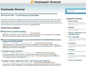 browse.feedreader.com screenshot