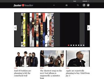 Thumbshot of Fasterlouder.com.au
