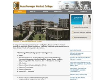 mmcollege.org screenshot