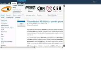 sevecek.com screenshot