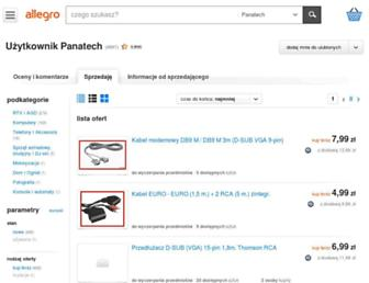 Main page screenshot of akcesoria.pl