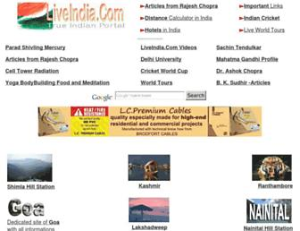 liveindia.com screenshot