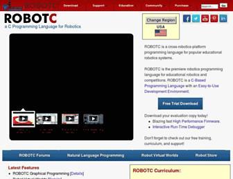 Thumbshot of Robotc.net