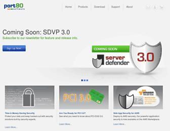Thumbshot of Port80software.com