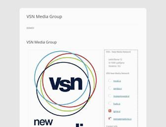 vsn.si screenshot