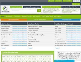 Thumbshot of Novelguide.com