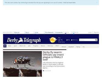 derbytelegraph.co.uk screenshot