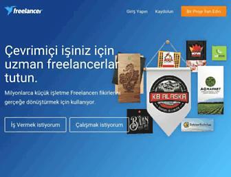 tr.freelancer.com screenshot