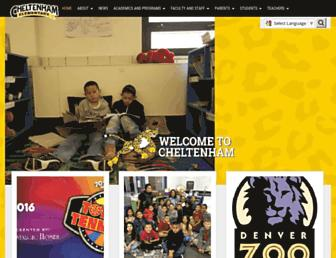 cheltenham.dpsk12.org screenshot