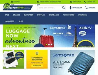 luggagedirect.com.au screenshot