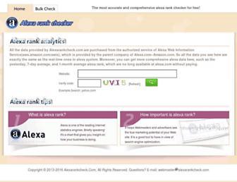 Thumbshot of Alexarankcheck.com