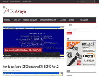 toavaya.com screenshot