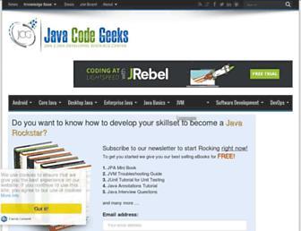 examples.javacodegeeks.com screenshot