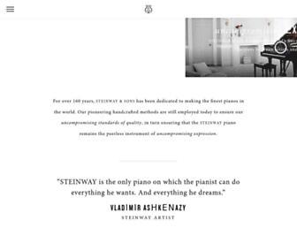 Thumbshot of Steinway.com