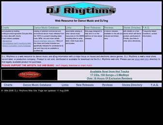 djrhythms.com screenshot