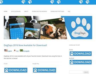 dogdaysapp.com screenshot