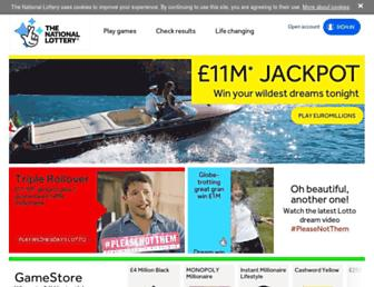 Fullscreen thumbnail of national-lottery.co.uk