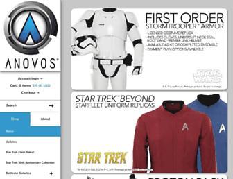 Thumbshot of Anovos.com
