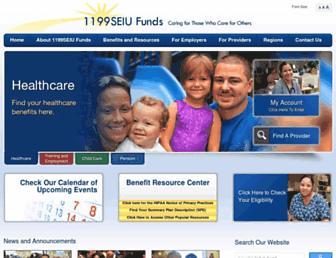 1199seiubenefits.org screenshot